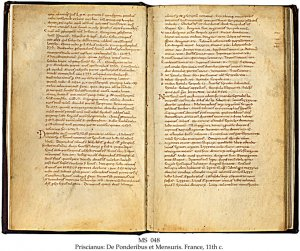 3 WORKS BY GRAMMARIANS OF THE LATE CLASSICAL ERA   MS 048
