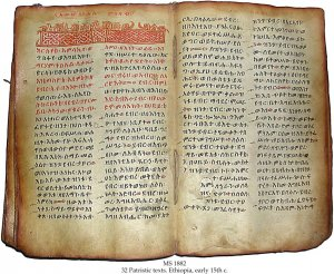 32 Patristic Texts (Ehiopia) | MS 1882