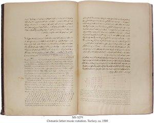 Al Urmawi Treatise on Music | MS 5279 (1)