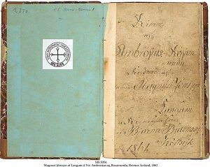 Ambrosius and Rosamunda | MS 5054 (1)