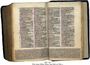 Astor Bible | MS 115