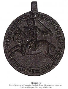 Baron Finn Gautsson Seal | MS 2223/16