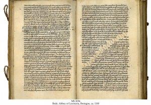 Bede: Abbey Locamaria, Brittany | MS 2036
