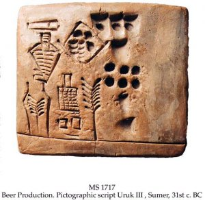 BEER PRODUCTION AT THE INANNA TEMPLE IN URUK | MS 1717