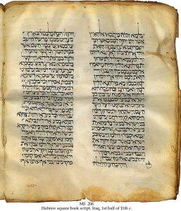 Exodus with Aramaic Translation | MS 206