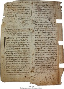 Bologna Neumes Missal | MS 105