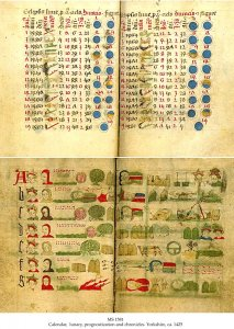 calendar-lunary-prognostication-chronicles-ms-1581