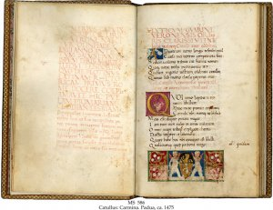Catullus Carmina | MS 586