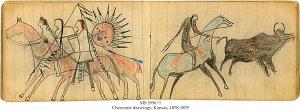 Cheyenne Chief Drawings | MS 2956/1 (1)