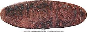 CHURINGA OF PAPATJOKURPA OF LURITJA TRIBE| MS 4629