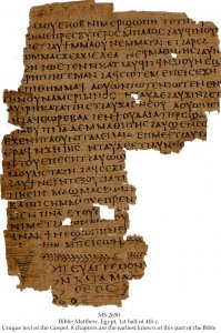 Codex Schoyen | MS 2650 (1)