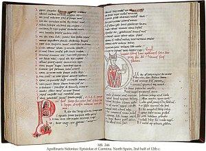 Apollinaris Sidonius   MS 246 (1)