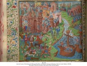 Jean de Courcy's Chronique de la Bouquechardiere | MS 259 (1)