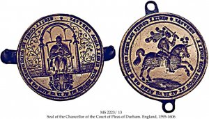 Court of Pleas Seal, County Palatine of Durham | MS 2223/13