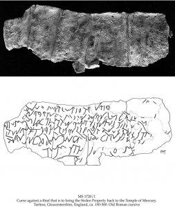 Latin Curse on Lead | MS 1720/1