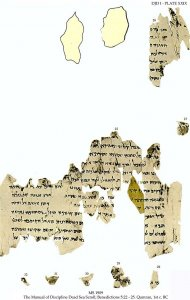 Dead Sea Scroll: Discipline Manual | MS 1909 (1)