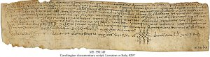 Deed of Gift to the Monastery of St Sebastian | MS 591/49