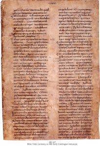 Early Lorsch Bible | MS 617