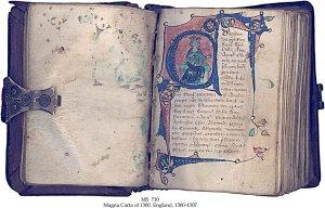 Edward I 1300 Magna Carta (2) | MS 710