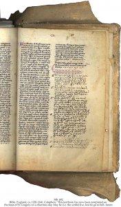 The Ellesmere Bible | MS 692 (1)