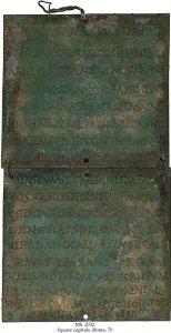 Roman Fleet Diploma | MS 2032 (1)