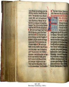 Franciscan Breviary | MS 009 (1)