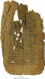 Greek Bible - Exodus | MS 187