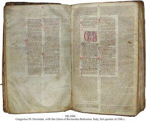 Gregorius IX: Decretals | MS 2084