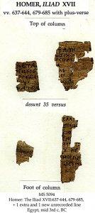 Homer's Iliad | MS 5094