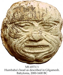 Humbaba Head | MS 4573-1