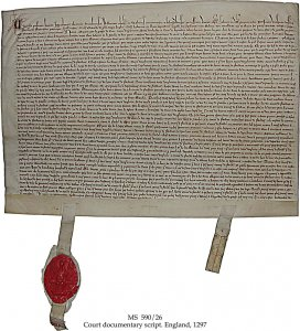 Inspeximus: Military Alliance against Philip of France | MS 590/26