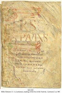 Insular Script Bible | MS 1932