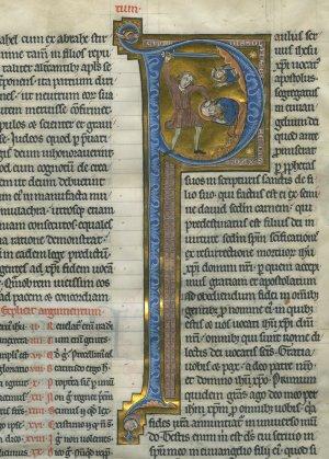 Geraardsbergen Bible: Romans | MS 006 (1)