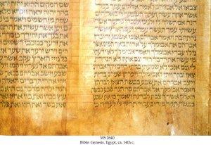 Bible: Genesis | MS 2640