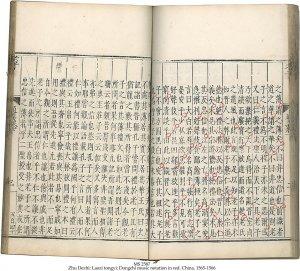 ZHU DEZHI: LAOZI TONGYI   MS 2587