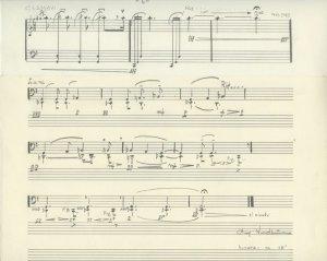 Arne Nordheim: lamavi  | MS 5483