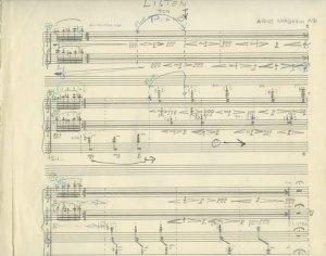 Arne Nordheim: Listen | MS 5484