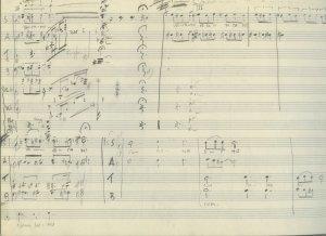 Arne Nordheim: Sketchbook | MS 5486 (1)