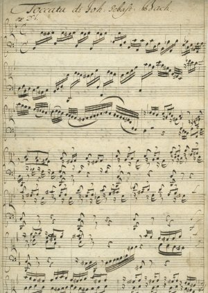 J S Bach Toccata in D | MS 5571 (1)