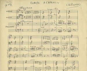 Ludwig van Beethoven Rondo | MS 5431 (1)