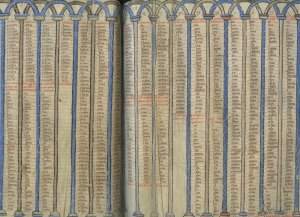 Canon Tables | MS 1278 (1)