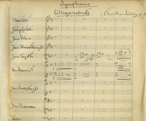 Christian Sinding: Symphony no. 2 | MS 5518 (1)