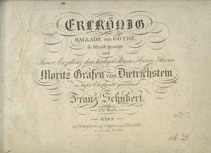 Franz Schubert: Erlkönig | MS 5448