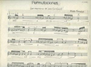 Hilda Paredes: Permutaciones | MS 5478/2
