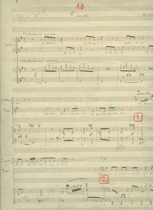 Honegger: Les Avantures due Roi | MS 5546