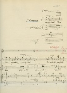 Igor Stravinsky: The Nightingale | MS 5405 (1)