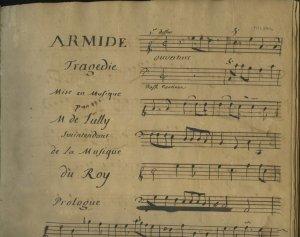Jean-Baptiste Lully: Armide | MS 5446