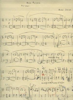Jolivet: Dance Romaine | MS 5574
