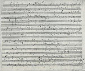 Ludwig van Beethoven: Piano Trio op 70 sketches | MS 5415 (1)