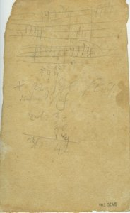 Ludwig van Beethoven: Sketches | MS 5268  (1)